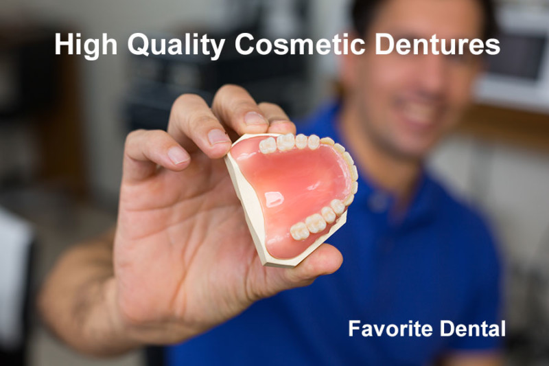 High Quality Cosmetic Dentures