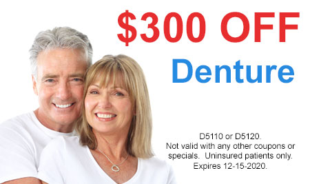 Favorite Dental - $300 Off Denture
