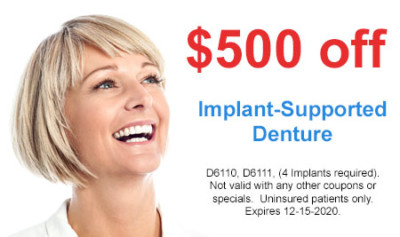 Favorite Dental - Implant-Supported Denture